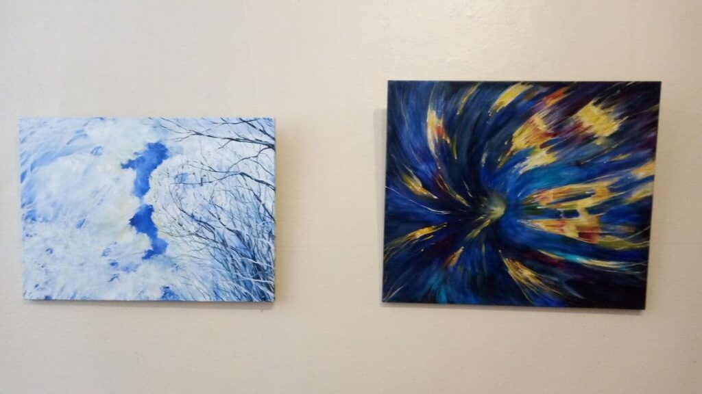 У Конотопі відкрилася виставка викладача дитячої художньої школи, фото-1